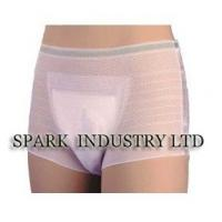 China OEM Highly Stretchable Maternity Briefs Incontinence Pants Use With Sanitary Napkin wholesale