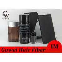 China 12 Colors Plus Mens Hair Thickening Powder Salon Used Hair Loss Fibers FDA Approved wholesale