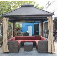 China garden furniture wicker gazebo/canopy-20015 wholesale