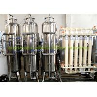 China Drinking Water Purification Machine Hollow Fiber Ultra Filtration System 220V / 380V on sale