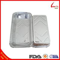 China High Quality Takeaway Rectangular Aluminium Foil Container/tray/lunch box on sale