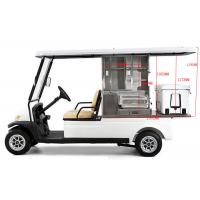 Buy cheap White Color Golf Beverage Cart , Food And Beverage Golf Cart With 5 Horsepower Motor from wholesalers