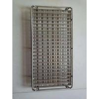 China 7*7 inch square stainless steel wire mesh basket with high quality on sale