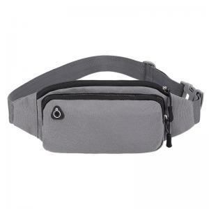 China Polyester Unisex Zipper Waterproof Waist Bag Pillow Shape wholesale