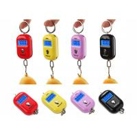 China Red Pink Yellow Mini Portable Electronic Luggage Scale 25 Kg Colorful Gift Items wholesale