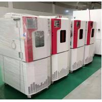 China Programmable Temperature Humidity Test Chamber / Alternative Test Machine By Forced Air Cooling Rate 5℃ / Min wholesale