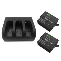China GoPro Accessory Set 2 Pack 3.85 V GoPro Hero 5 Battery with Triple Charger Kit wholesale