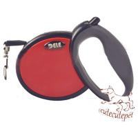 China retractable dog leash red pink blue colors for choice wholesale
