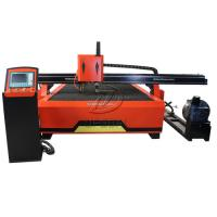 Quality 2060 CNC Steel Sheet & Steel Pipe Plasma Cutting Drilling Machine with Rotary Axis/200A Hypertherm Plasma Power Supply for sale