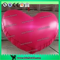 China 1m Party Inflatable Lighting Decoration , 210T Nylon Cloth 3ft Inflatable Heart wholesale