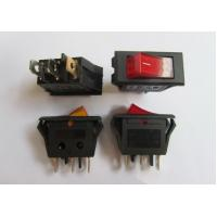 China KCD6 -102N Boat Like Switch 3 PINS Rocker Switch with Neon Lamp 10A /15A electric switches wholesale