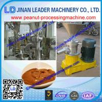 China 60-80kg/h stainless steel Wet particle processing peanut butter machine/peanut butter grin wholesale