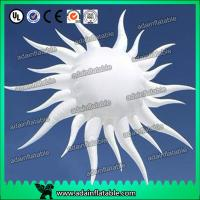 China White Hanging Inflatable Sun For Club Event Hanging Decoration wholesale