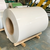 China 505mm 510mm Prepainted 1050 Coated Aluminum Coil O-H112 wholesale