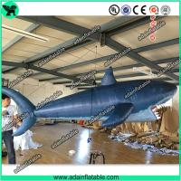 3m Inflatable Shark with Blower for Indoor Event Stage Decoration,Inflatable Shark Model