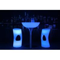 China 20 Colors LED Lit Furniture 8-10 Hours Run Time AC Plug LED Lounge Furniture wholesale