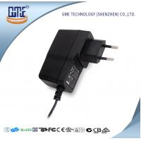 China EU plug Constant Current LED Driver 15V 1A Universal Power Adapter With GS CE Certificated wholesale