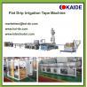 Buy cheap Flat dripper inside drip irrigation tape making machine,Round drip irrigation pipe machine product