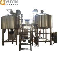 Buy cheap Electric heated Brewhouse 200L Stainless Steel Beer brewing equipment from wholesalers