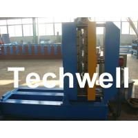 China 0.3 - 0.8mm Material Thickness Roof Sheet Crimped Curving Machine With PLC Control System wholesale