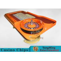 China Casino Dedicated Luxury Roulette Poker Table Solid wood + High-Grade Soft Bag Armrest wholesale