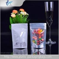 China Resealable Pouches Stand Up Plastic Ziplock Bags For Food on sale