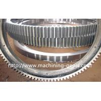 China Polishing Large Diameter Engine Ring Gear / Industrial Custom Spur Gears For Machinery wholesale