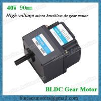 China 40W 90mm power brushless dc motor with motor controller 220V, 230V wholesale