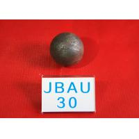 Quality 62-63HRC Surface hardness Durable Wear Resistance Grinding Balls For Ball Mill , Hot Rolling Steel Balls for Mines for sale