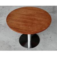 China Durable Wooden Dining Room Tables Polished Metal For Restaurant wholesale