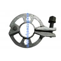China Hot galvanized Ring lock Scaffold rosette 1.18kg , Ringlock / All round / Layer accessories wholesale