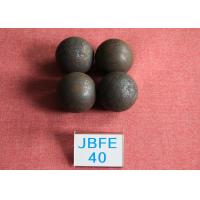 Quality Power Station Forged Grinding Steel Ball B2 D40mm High Surface Heardness 61hrc - 63hrc for sale