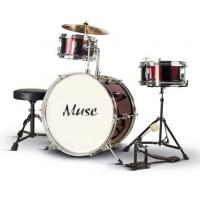 China Junior PVC 3 Piece Basic Adult Drum Set ISO9001:2008 / CE / EN71 A364S-806 wholesale