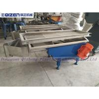 China Building Material Linear Vibrating Screen Machine For Rubber Granule on sale