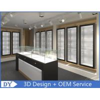 China Modern Attractitve Showroom Display Cases for Jewellery Showroom Pre - Assembly wholesale