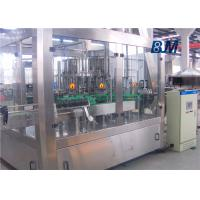 China Juice / Tea / Beverage ringsing-filling-capping machine with touch screen wholesale