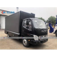 China Foton Aumark Outdoor Full Color LED Display Advertise Truck P4 P5 P6 Mobile LED Billboard Truck wholesale