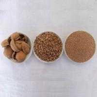 China 35# High efficiency ecological dry polishing grinder Dry walnut shell granule media wholesale
