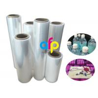 China 19 Micron Polyolefin Shrink Film For Book Packing Over 60% Shrinkage Ratio wholesale