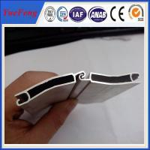 China High quality wholesale OEM design aluminium shutters doors panel profile wholesale