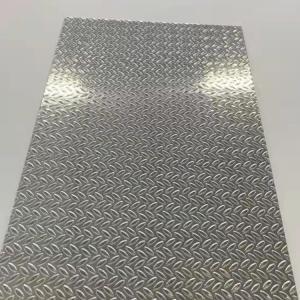 China H34 Aluminum Tread Plate 1060 Aluminum Tread Plate 5754 5052 5083 H34 Aluminum Tread Plate wholesale