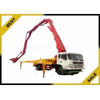 China High Performance Truck Mounted Concrete Pump Open Hydraulic Boom Overload Protection wholesale