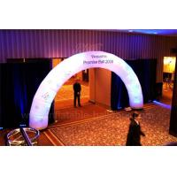 China Portable Inflatable Arch , Wedding Decoration Airblown LED Archway wholesale