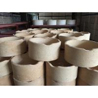 China High Strength Refractory Kiln Furniture Alumina Ceramic Crucible Wear Resistance wholesale