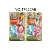 China Harmless Childrens Toy Kitchen Sets for Pretend Play Cooking 10 Pcs 2 Assorted wholesale