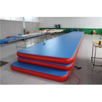 China Private Label 12m Inflatable Air Tumble Track Mattress Leakage - Prevention wholesale