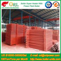 China 100M CFB Boiler Superheater Petrochemical Natural Gas Industry Boiler Spare Part wholesale