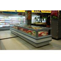 China White Single Site Supermarket  Ice Cream Display Freezer With Sliding Door wholesale