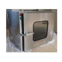 China Small Stainless Steel 201 Dynamic Cleanroom Through Pass Box For Laboratory wholesale