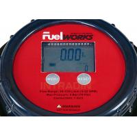 "Quality Accurate 1"" Inlet And Outlet Fuel Oil Flow Meters with LCD Display , Face for sale"